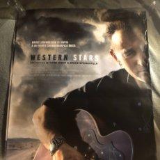 Cine: WESTERN STARS BRUCE SPRINGSTEEN RARO POSTER CINE 70X100CM. Lote 195696968