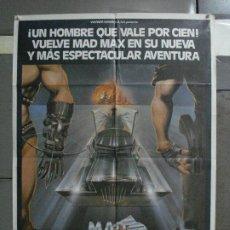 Cine: AAE70 MAD MAX 2 MEL GIBSON POSTER ORIGINAL 70X100 ESTRENO. Lote 195876591