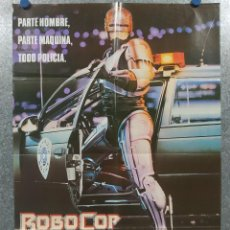 Cinéma: ROBOCOP. P PETER WELLER, NANCY ALLEN, KURTWOOD SMITH. AÑO POSTER ORIGINAL . Lote 195883147