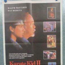 Cinéma: KARATE KID II. RALPH MACCHIO, PAT MORITA. AÑO 1986 - POSTER ORIGINAL. Lote 195883855