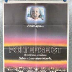 Cine: POLTERGEIST FENOMENOS EXTRAÑOS . POSTER ORIGINAL. AÑO 1982. Lote 196056402