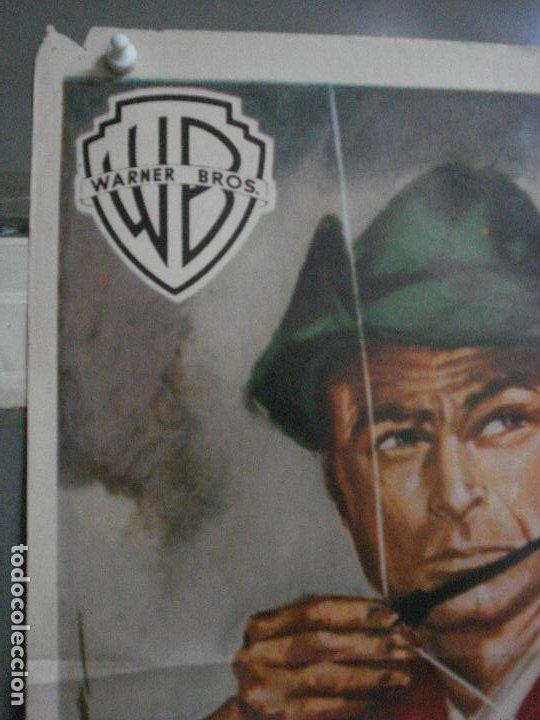 Cine: AAF23 ROBIN HOOD Y LOS PIRATAS LEX BARKER POSTER ORIGINAL 70X100 ESTRENO - Foto 2 - 196097601