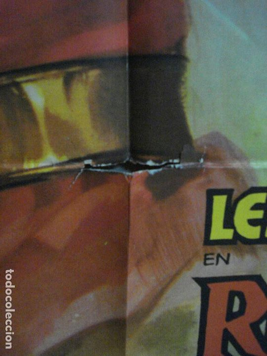 Cine: AAF23 ROBIN HOOD Y LOS PIRATAS LEX BARKER POSTER ORIGINAL 70X100 ESTRENO - Foto 6 - 196097601