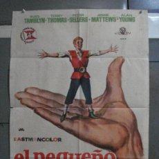 Cine: AAF25 EL PEQUEÑO GIGANTE TOM THUMB RUSS TAMBLYN GEORGE PAL JANO POSTER ORIGINAL 70X100 ESTRENO. Lote 196099117