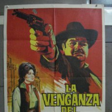 Cine: AAF32 LA VENGANZA DEL FORASTERO RENE CARDONA ROSA DE CASTILLA JANO POSTER ORIGINAL 70X100 ESTRENO. Lote 196106658
