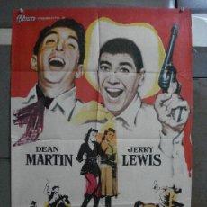 Cine: AAF33 JUNTOS ANTE EL PELIGRO DEAN MARTIN JERRY LEWIS MCP POSTER ORIGINAL 70X100 ESTRENO. Lote 196107053