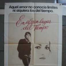 Cine: AAF34 EN ALGUN LUGAR DEL TIEMPO JANE SEYMOUR CHRISTOPHER REEVE POSTER ORIGINAL 70X100 ESTRENO. Lote 196107158