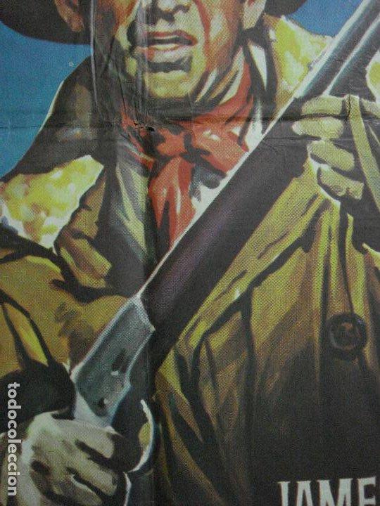 Cine: AAF35 TIERRAS LEJANAS JAMES STEWART ANTHONY MANN SOLIGO POSTER ORIGINAL 70X100 ESPAÑOL R-66 - Foto 2 - 196107386