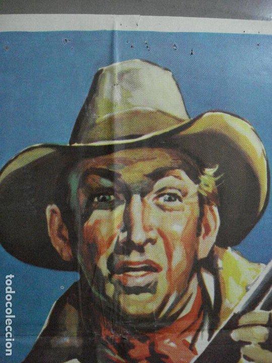 Cine: AAF35 TIERRAS LEJANAS JAMES STEWART ANTHONY MANN SOLIGO POSTER ORIGINAL 70X100 ESPAÑOL R-66 - Foto 8 - 196107386