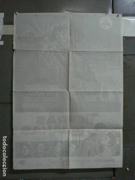 Cine: AAF35 TIERRAS LEJANAS JAMES STEWART ANTHONY MANN SOLIGO POSTER ORIGINAL 70X100 ESPAÑOL R-66 - Foto 10 - 196107386
