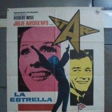 Cine: CDO 539 LA ESTRELLA JULIE ANDREWS MAC POSTER ORIGINAL 70X100 ESTRENO. Lote 196109072