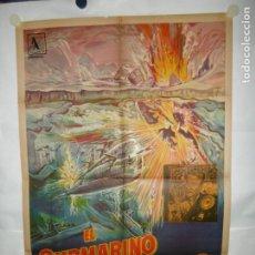 Cine: EL SUBMARINO ATOMICO - 110 X 75CM - LITOGRAFICO. Lote 196143926