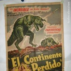 Cinema: EL CONTINENTE PERDIDO - 110 X 75CM - LITOGRAFICO. Lote 196144207