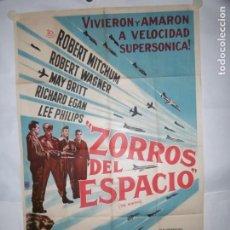 Cine: ZORROS DEL ESPACIO - 110 X 75CM - LITOGRAFICO. Lote 196145111