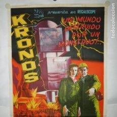 Cinema: KRONOS - 110 X 75CM - LITOGRAFICO. Lote 196145135