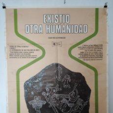 Cine: CARTEL CINE. EXISTIO OTRA HUMANIDAD. PRODUCCIÓN ANTONIO IRLES. Lote 196145437