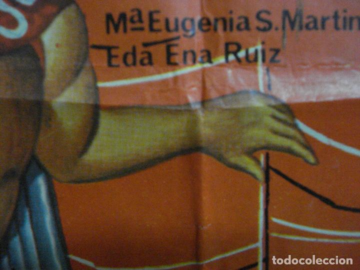 Cine: CDO 549 SANTO ATACAN LAS BRUJAS ENMASCARADO DE PLATA WRESTING MARCO POSTER ORIGINAL 70X100 ESTRENO - Foto 6 - 196173171