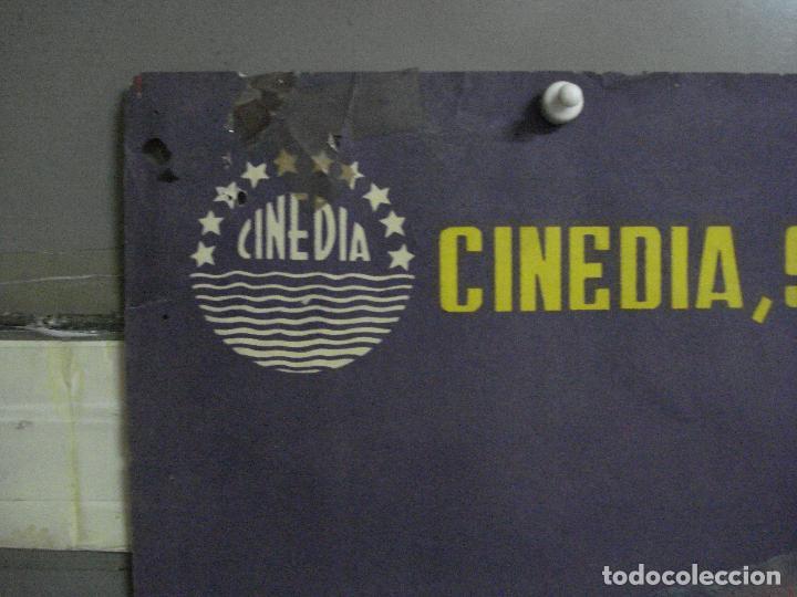 Cine: CDO 580 LA CARGA DE LA BRIGADA LIGERA ERROL FLYNN RAGA POSTER ORIG 70X100 ESPAÑOL R-62 LITOGRAFIA - Foto 2 - 196207572