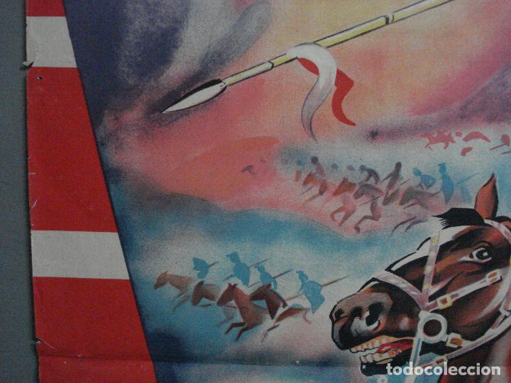 Cine: CDO 580 LA CARGA DE LA BRIGADA LIGERA ERROL FLYNN RAGA POSTER ORIG 70X100 ESPAÑOL R-62 LITOGRAFIA - Foto 8 - 196207572