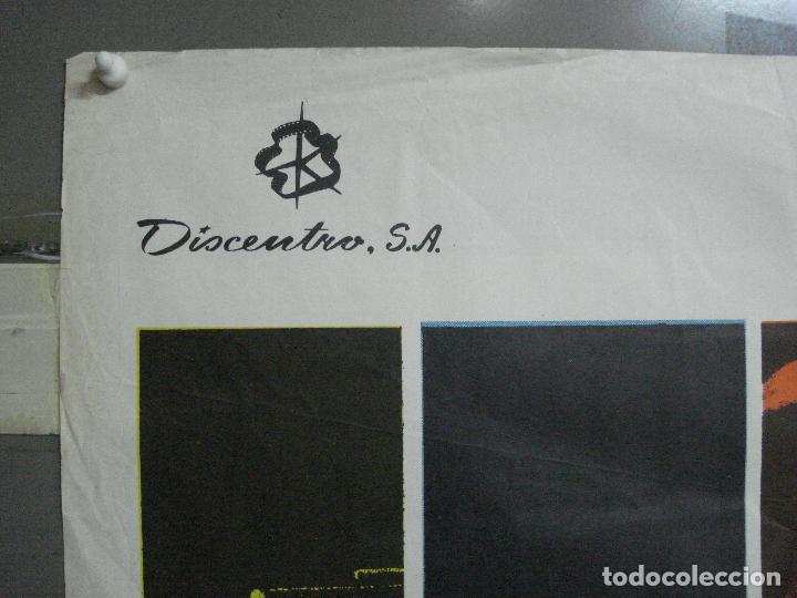Cine: CDO 581 EL CIRCO DEL CRIMEN BERSERK JOAN CRAWFORD DIANA DORS POSTER ORIGINAL ESTRENO 70X100 - Foto 2 - 235593150