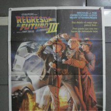 Cinéma: CDO 591 REGRESO AL FUTURO 3 MICHAEL J. FOX ROBERT ZEMECKIS POSTER ORIGINAL ESTRENO 70X10. Lote 196231147