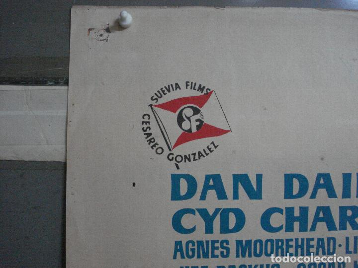 Cine: CDO 595 VIVA LAS VEGAS CYD CHARISSE MEET ME IN LAS VEGAS JANO POSTER ORIGINAL ESTRENO 70X100 - Foto 2 - 196231931