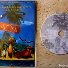 Cine: DVD- FOTO 223 - REBELION EN LA ISLA- USADO,PERO MUY NUEVO. Lote 196367670