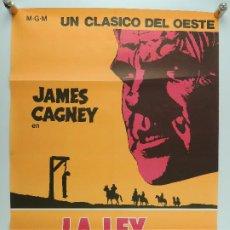 Cinéma: CARTEL DE CINE : LA LEY DE LA HORCA JAMES CAGNEY M.G.M.. Lote 196476272