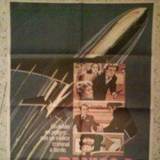 Cine: 1978 CARTEL (POSTER) DE CINE - PÁNICO A 40.000 PIES. Lote 196503648