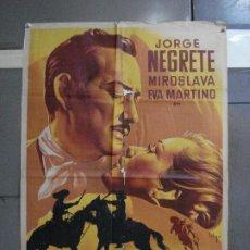 Cine: AAF49 LA POSESION JORGE NEGRETE MIROSLAVA EVA MARTINO SOLIGO POSTER ORIG 70X100 ESTRENO LITOGRAFIA. Lote 196509390