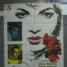 Cinéma: AAF79 CARMEN LA DE RONDA SARA MONTIEL MAC POSTER ORIGINAL 70X100 ESTRENO. Lote 196520867