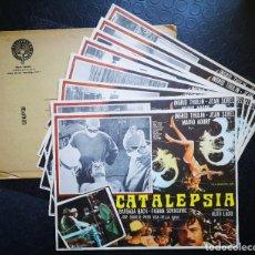 Cine: CATALEPSIA - LOBBY CARDS. Lote 196630675