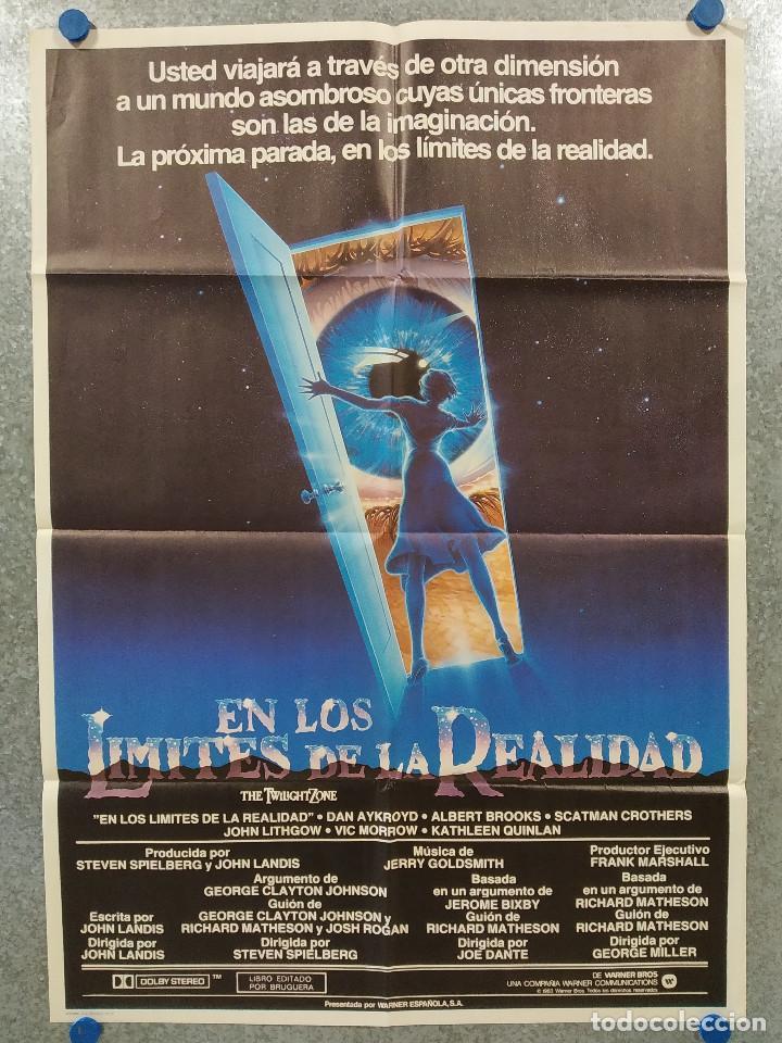 EN LOS LÍMITES DE LA REALIDAD. DAN AYKROYD, ALBERT BROOKS. AÑO 1983. POSTER ORIGINAL (Cine - Posters y Carteles - Ciencia Ficción)