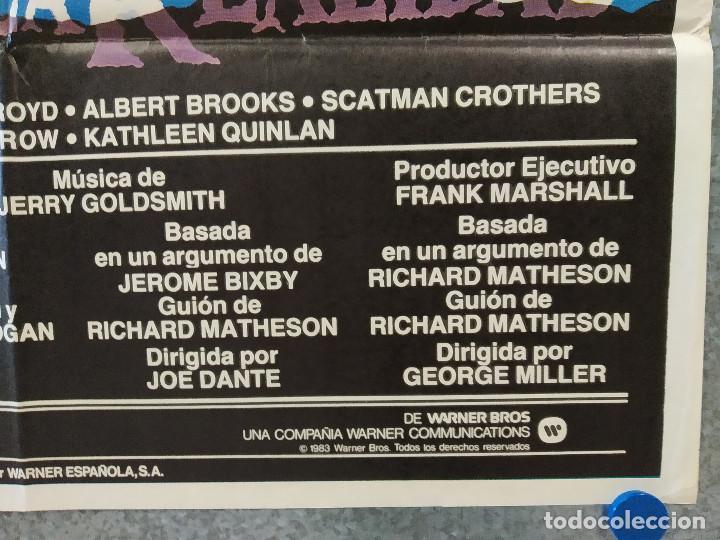 Cine: En los límites de la realidad. Dan Aykroyd, Albert Brooks. AÑO 1983. POSTER ORIGINAL - Foto 3 - 196635665
