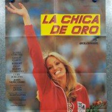 Cine: LA CHICA DE ORO. SUSAN ANTON, JAMES COBURN, CURD JÜRGENS. AÑO 1979. POSTER ORIGINAL. Lote 196638743