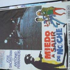 Cine: MIEDO A SALIR DE NOCHE DE ELOY DE LA IGLESIA POR SÓLO DOCE EUROS. Lote 196658310