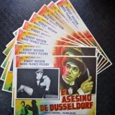 Cine: EL ASESINO DE DUSSELDORF. Lote 196728882