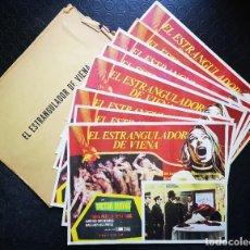 Cine: EL ESTRANGULADOR DE VIENA - LOBBY CARDS. Lote 196737915