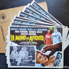 Cine: LA MANO QUE APRIETA. Lote 196749087