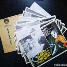 Cine: SANTO EN EL MISTERIO DE LA PERLA NEGRA. Lote 196750423