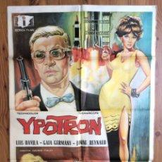 Cine: YPOTRON - PÓSTER ORIGINAL - LUIS DAVILA GAIA GERMANY - IBÉRICA FILMS - 99X69CM. Lote 196752391