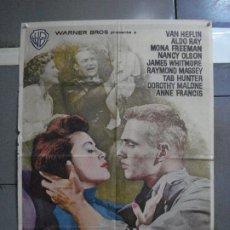 Cine: AAG32 MAS ALLA DE LAS LAGRIMAS TAB HUNTER RAOUL WALSH POSTER ORIGINAL 70X100 ESTRENO. Lote 196767427
