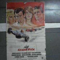 Cine: AAG37 GRAND PRIX FORMULA 1 AUTOMOVILISMO POSTER ORIGINAL 3 HOJAS 100X205 ESTRENO. Lote 196771186