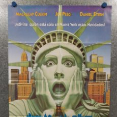 Cine: SOLO EN CASA 2 PERDIDO EN NUEVA YORK - MACAULAY CULKIN, JOE PESCI, DANIEL AÑO 1992 POSTER ORIGINAL. Lote 210281925