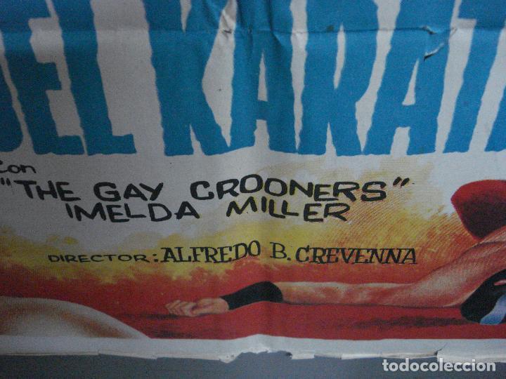 Cine: CDO 657 NEUTRON CONTRA LOS ASESINOS DEL KARATE enmascarado wrestling ADOS POSTER ORIG 70X100 ESTRENO - Foto 9 - 196979790
