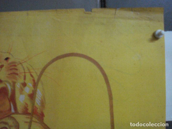 Cine: CDO 660 GARRAS DE MUERTE MARGIT NUNKE POSTER ORIGINAL 70X100 ESTRENO LITOGRAFIA - Foto 4 - 196981635