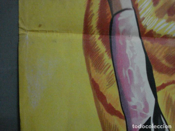Cine: CDO 660 GARRAS DE MUERTE MARGIT NUNKE POSTER ORIGINAL 70X100 ESTRENO LITOGRAFIA - Foto 5 - 196981635