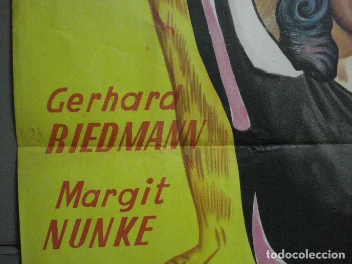 Cine: CDO 660 GARRAS DE MUERTE MARGIT NUNKE POSTER ORIGINAL 70X100 ESTRENO LITOGRAFIA - Foto 7 - 196981635