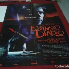 Cine: POSTER DOBLE EL ESPINAZO DEL DIABLO / ESPERA AL ULTIMO BAILE. Lote 197056887