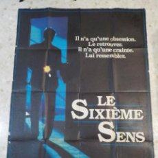 Cine: ANTIGUO CARTEL DE CINE FRANCES.LE SIXIEME SENS.EL SEXTO SENTIDO.MICHAEL MANN.GRAN TAMAÑO.. Lote 197095681